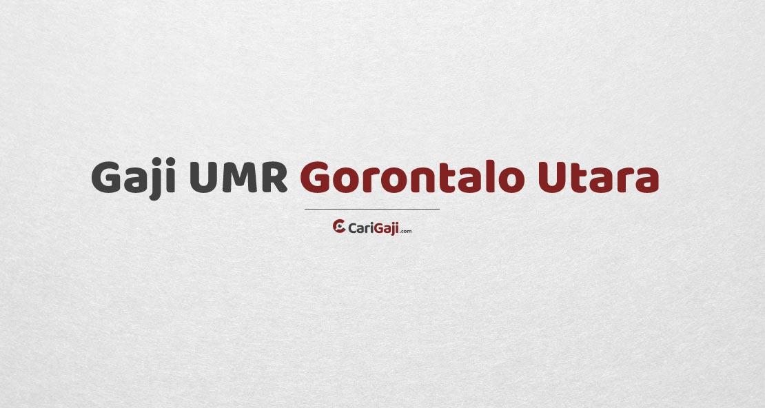 Gaji UMR Gorontalo Utara