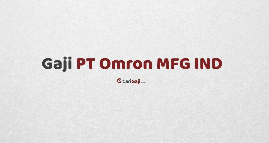 Gaji PT Omron MFG IND